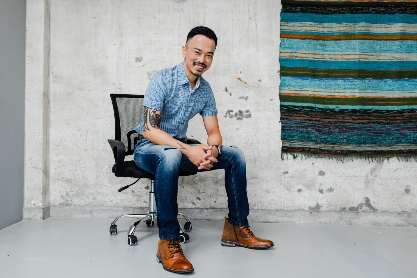 XREX共同創辦人黃耀文