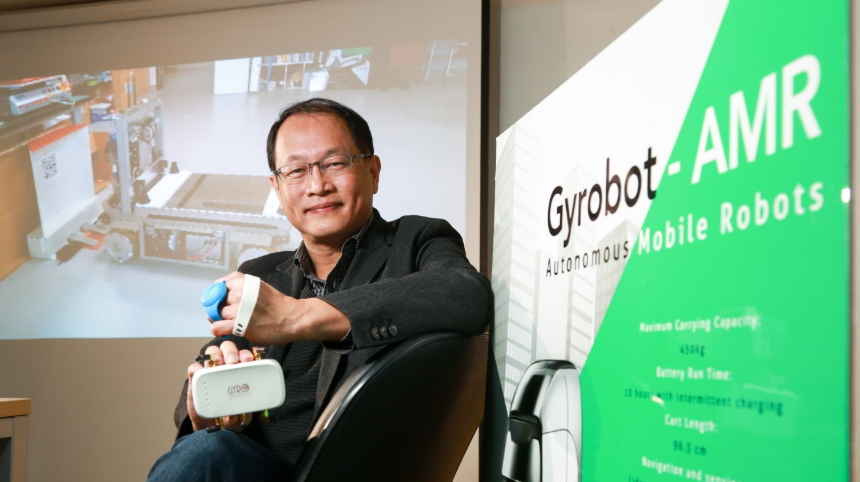 Taiwanese Tech Startup Gyro Systems Aims to Make Location Tracking Systems for Manufacturing Efficiency