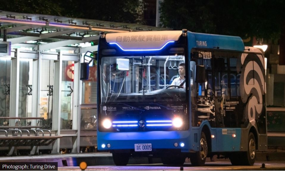 Turing Drive to launch self-driving bus service for public transit in Taipei