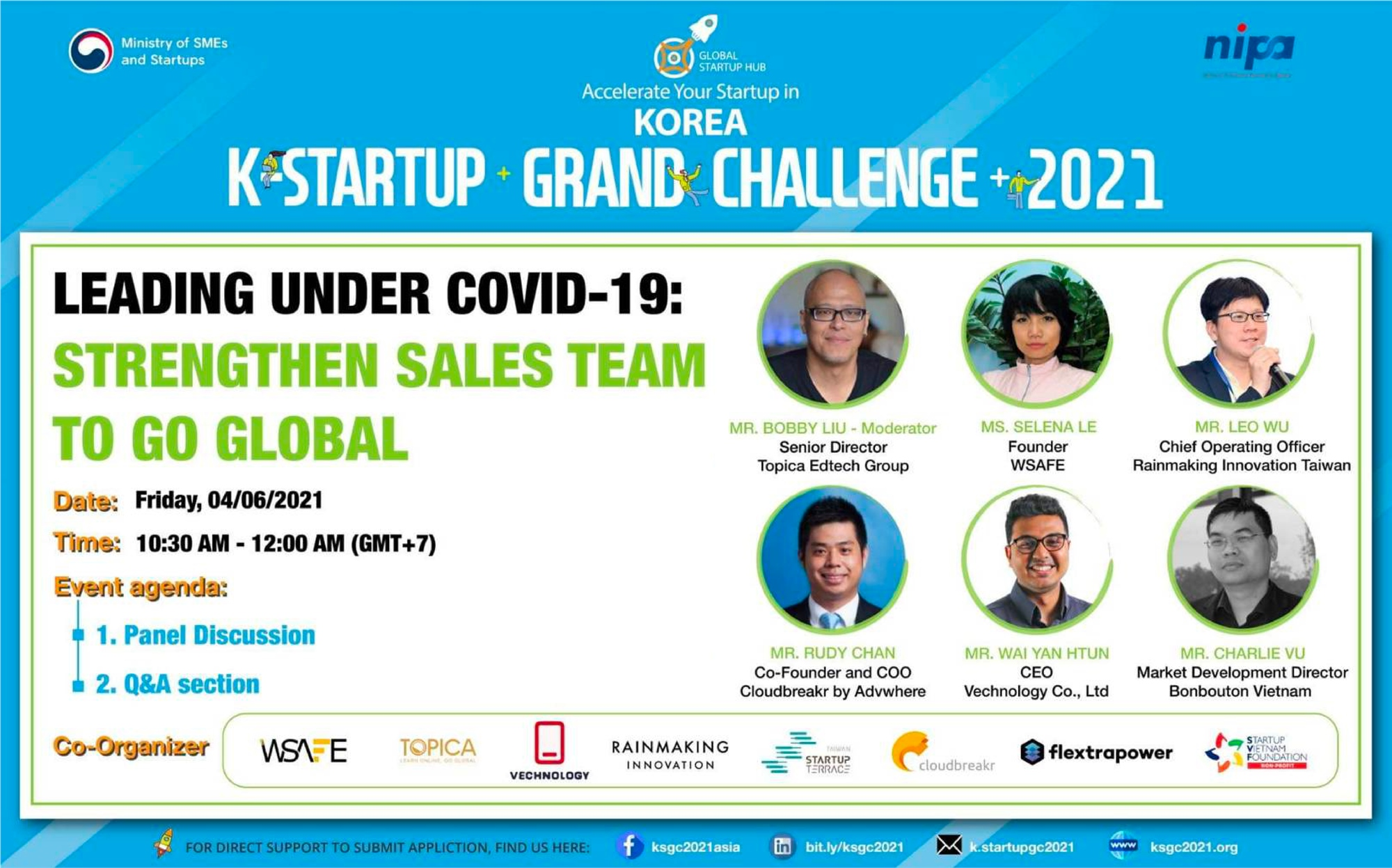 6/4【Online】Leading under Covid-19: Strengthen sales teams to go global