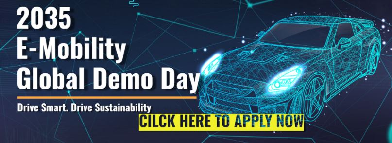 【2035 E-Mobility Global Demo Day】Startup Competition